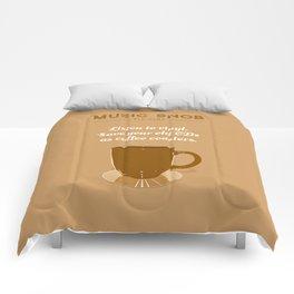 Coffee Coasters — Music Snob Tip #184 Comforters