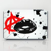 sons of anarchy iPad Cases featuring Anarchy by Mike Lampkin