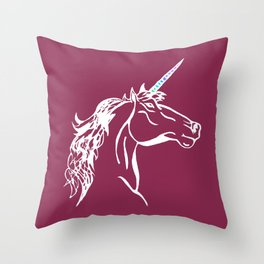 UNICORN! Throw Pillow