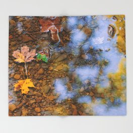 Harbinger of Fall Throw Blanket