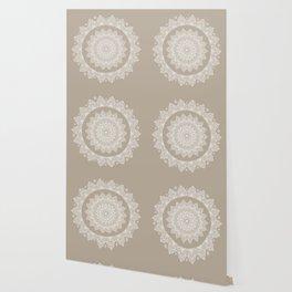 Baja Dunes Mandala Lace Bohemian Décor Wallpaper