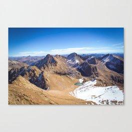 Wetterhorn Peak Canvas Print