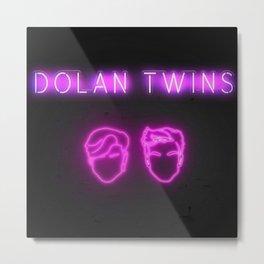 Dolan Twins Metal Print