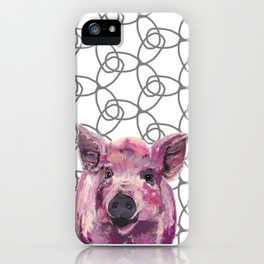 Precious Pig iPhone Case