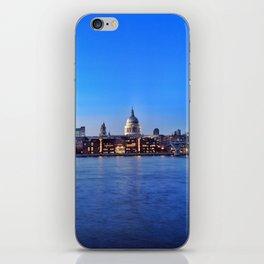 Blue St Paul's iPhone Skin