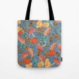 Fall Woodland Tote Bag