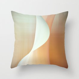 Wave n°5 Throw Pillow
