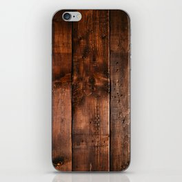 Natural Wood Boards iPhone Skin
