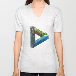 Connectivity Unisex V-Neck