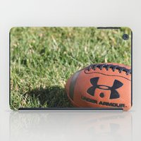 football iPad Cases featuring Football by Images by Danielle