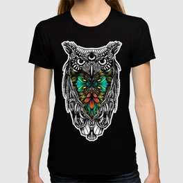 Owl color T-shirt