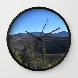 The Crater (Cinder Cone) Wall Clock