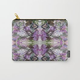 Psychedelic Positive Notes Lavender Zoom Carry-All Pouch
