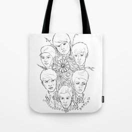 VIXX and Flowers Tote Bag