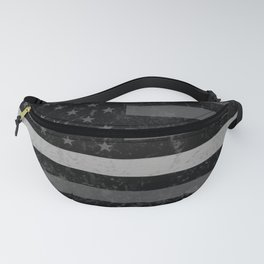 Thin Silver Line Fanny Pack