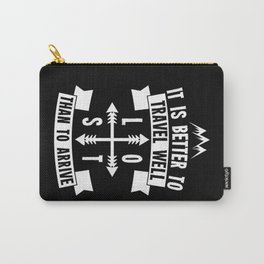 Travel Well Carry-All Pouch