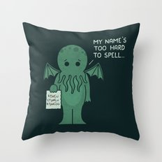 Monster Issues - Cthulhu Throw Pillow