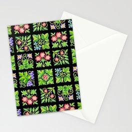 Tudor Flower Parterre Stationery Cards