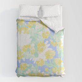 Vintage allover daisys Comforters