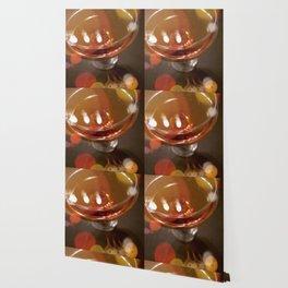 Lights Glistening in an Evening Drink Wallpaper