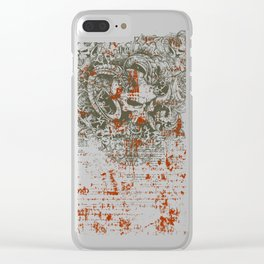 Satan - Lucifer Clear iPhone Case