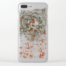 Satan - Lucifer Clear iPhone Case