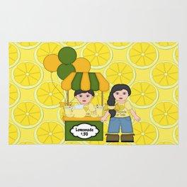 Lemonade Stand Rug