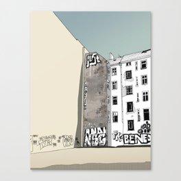 Warschauer Strasse Canvas Print