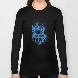 Quote 1 Long Sleeve T-shirt