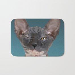 Sphynx Kitten III Bath Mat