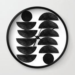 Affiche Scandinavian Wall Clock
