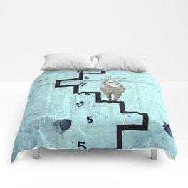Time Rabbit Comforters