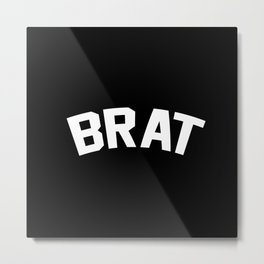 BRAT Metal Print