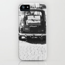 fiat 500 car - his iPhone Case