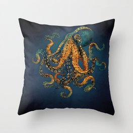 Underwater Dream IV Throw Pillow