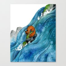 High Ground Canvas Print