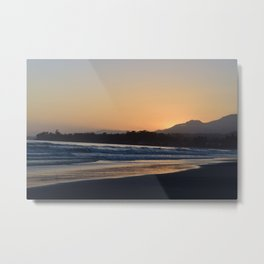 Santa Claus Beach, CA Metal Print