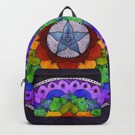 Star Mandala Rainbow Backpack