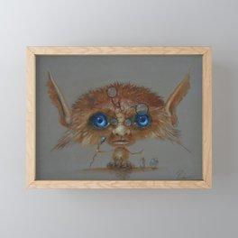 Little Wizard Framed Mini Art Print