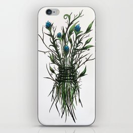 Wicked Weed (blue) iPhone Skin