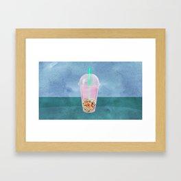 Clownfish Tea by Kenzie McFeely Framed Art Print