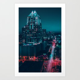 Frost Bank Tower Art Print
