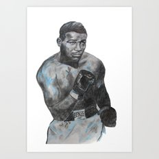 Sugar Ray Robinson Art Print