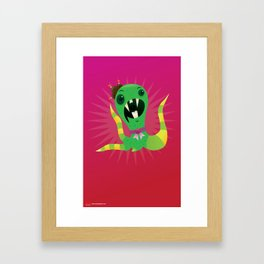 Mel the Quatropus. Framed Art Print