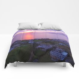 Napatree Point Sunset - Watch Hill - Westerly, Rhode Island Comforters