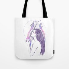 Cosmic Tears Tote Bag