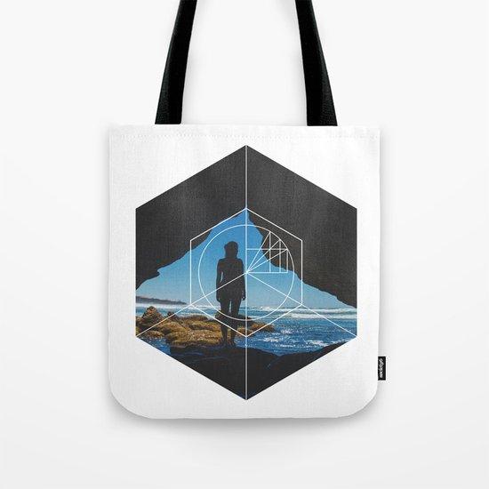 Paradise Cove Girl - Geometric Photography Tote Bag
