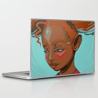 child Laptop & iPad Skins featuring child by keiadnae