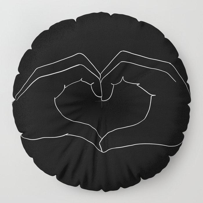 cœur Floor Pillow
