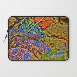 Colorful Snake Laptop Sleeve